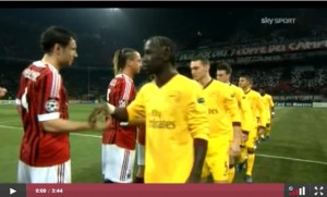 milan arsenal 4-0 video sky